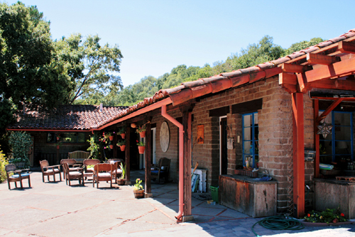 A 1945 ranch style Adobe House on the Martinez Home Tour