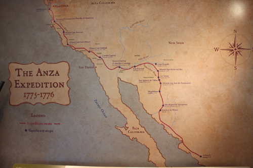 The Martinez Adobe houses the nation's largest exhibit about the de Anza Expedition.