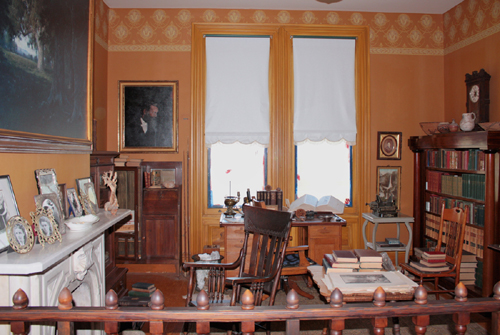 The home office of John Muir in Martinez, CA