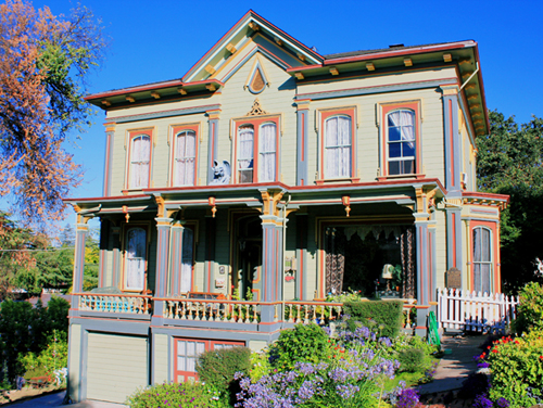 The 1877 Tucker Mansion was on the Martinez Historic Home Tour
