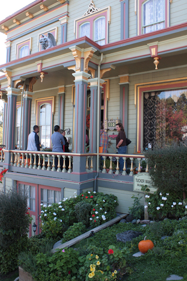 The Captain Tucker Mansion was on the Martinez Home Tour