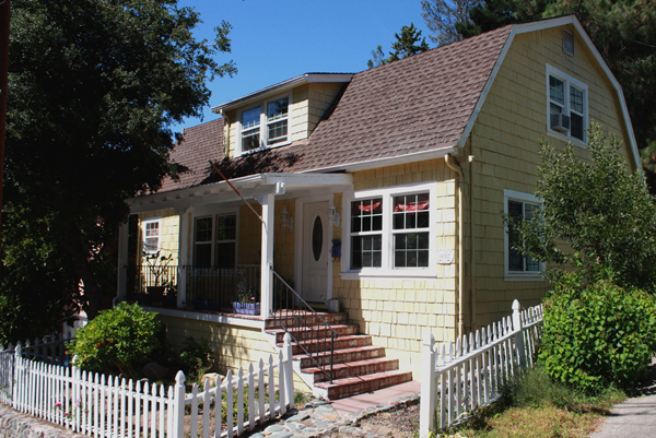 A 1930s Colonial Revival house in Martinez, CA.