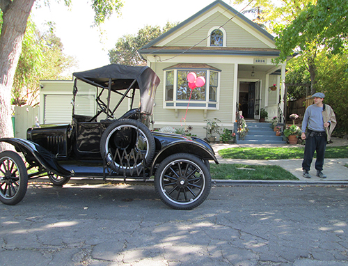 A Model T Ford in Martinez, CA