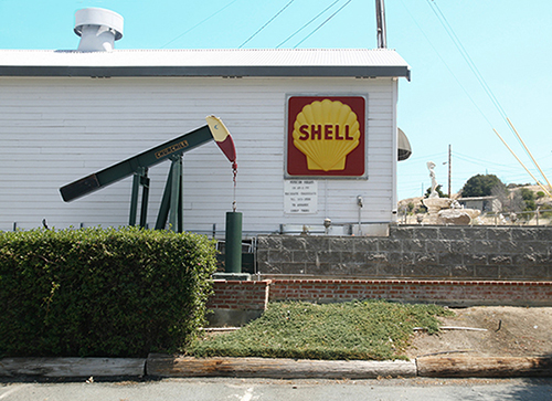 The Shell Alumni Museum is one of four museums in the town of Martinez, CA.